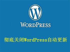 彻底关闭WordPress自动更新和后台更新检查