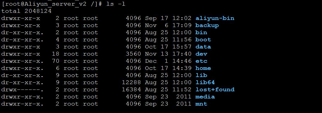 Linux必备命令(一)