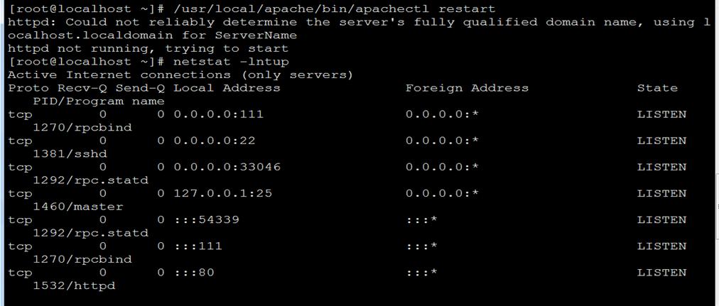 Apache(WEB服务器)配置虚拟主机