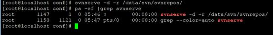 Linux搭建SVN服务器