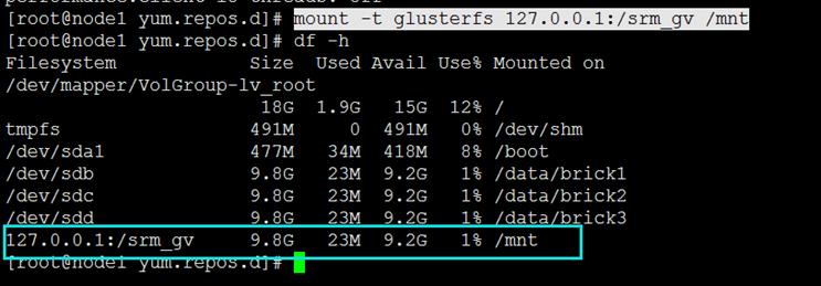 Glusterfs分布式存储部署