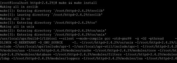 CentOS 7.4搭建LAMP环境