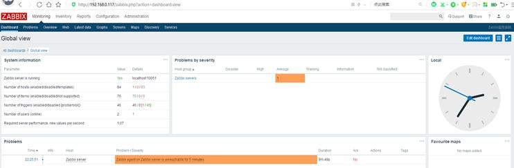 CentOS 7.4基于LAMP环境安装Zabbix监控平台