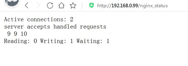 Nginx服务器启用Status状态页面
