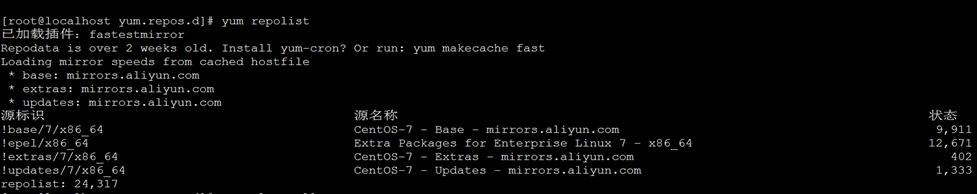 CentOS 7.4搭建本地YUM仓库