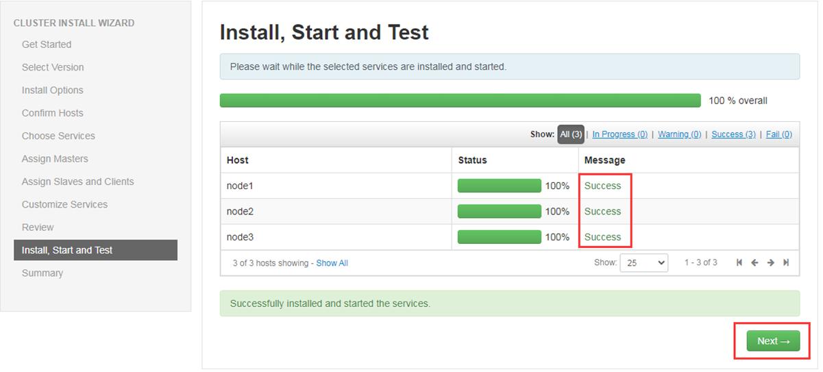 Linux搭建大数据平台Ambari并部署Hadoop集群