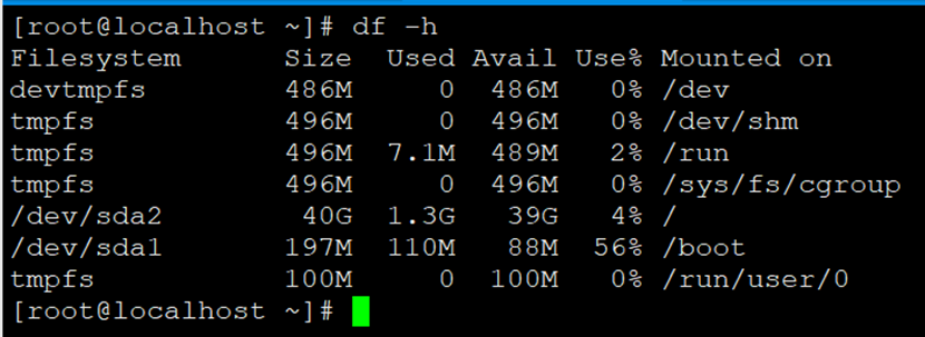 Centos 7.X根分区磁盘扩容(非LVM)